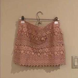 American Eagle Crochet/Lace Skirt